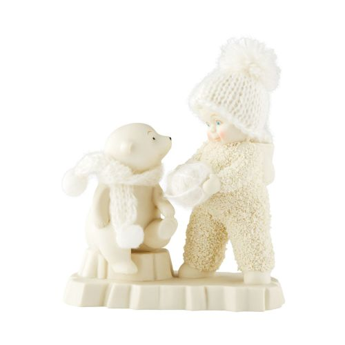 Snowbabies - Bearly A Knitter